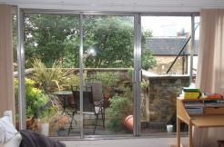 Full width doorwindow